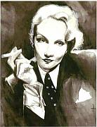 Cecill Woods Art - Marlene by Cecill Woods