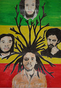Jamaica Mixed Media Posters - Marley Generation Poster by Rajwayne Neufville