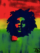 First Amendment Paintings - Marley by Tony B Conscious