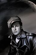 Marlon Brando  Print by Andrzej Szczerski