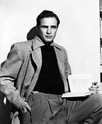 Marlon Photos - Marlon Brando, Ca. 1950 by Everett