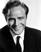 G.a.-2 Framed Prints - Marlon Brando In The 1950s Framed Print by Everett