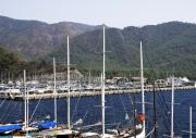 Marmaris Port Print by Svetlana Sewell