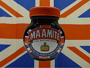 Beefeater Hat Posters - Marmite the Growing Up Spread Poster by Richard Reeve