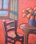 Carl Stevens - Maron Chair in Orange...