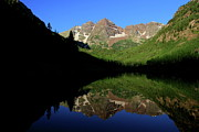 Steve Boice - Maroon Bells Summer...