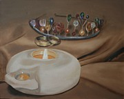 Oil Lamp Originals - Marraige Covenant by Elmarie Swanepoel
