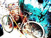Funkpix Digital Art Posters - Marrakech Funky Bike  Poster by Funkpix Photo Hunter