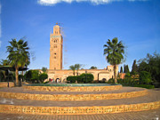 Moroccan Photos - Marrakech by Tom Gowanlock