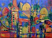 Marrakesh Paintings - Marrakesh 2 by Genevie Henderson