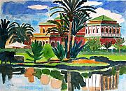 Pga Paintings - Marrakesh Morocco by Lesley Giles