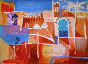 Marrakesh Paintings - Marrakesh by Yvonne Ayoub