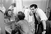 Domestic Bathroom Prints - Marriage Trouble Print by Kurt Hutton