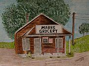 Grocery Store Prints - Marrs Country Grocery Store Print by Kathy Marrs Chandler