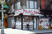 New York City Wandering Framed Prints - Mars Bar RIP Framed Print by Jerry Patterson