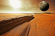 Planet Digital Art - Mars by Dapixara Art