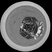 Astrogeology Photos - Mars Exploration Rover On The Surface by Stocktrek Images