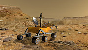 Laboratory Digital Art - Mars Science Laboratory Travels by Stocktrek Images