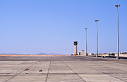 Traffic Control Photo Posters - Marsa Alam airport. Egypt. Poster by Fernando Barozza