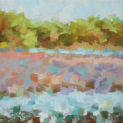 Sunny Originals - Marsh Grasses by Don  Reed