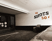 Targets Prints - Marshall Hall Shooting Gallery Print by Jan Faul