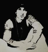 Eminem Painting Metal Prints - Marshall Metal Print by Nikki Portanova