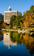 Mecklenburg County Prints - Marshall Park Print by Patrick Schneider