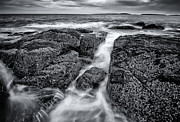 Maine Photographs Prints - Marshall Point Tide Print by Chad Tracy