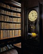 Large Clocks Art - Marshs Library, Dublin City, Ireland by The Irish Image Collection