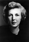 Novelist Framed Prints - MARTHA GELLHORN (1908-1998). American novelist. Photographed in 1943 Framed Print by Granger