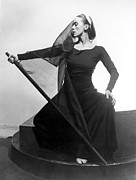 Headband Metal Prints - Martha Graham In Her Tragic Holiday Metal Print by Everett