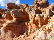 Martian Cliffs Print by Silvie Kendall