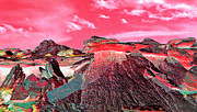 Other World Prints - Martian Landscape Print by Terril Heilman