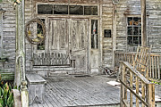Old Home Place Prints - Martin Home Place Print by Forrest Morace