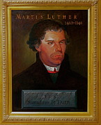 Martin  Luther Paintings - Martin Luther by Alan Carlson
