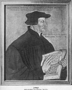Anti German Prints - Martin Luther, German Theologian Print by Photo Researchers, Inc.