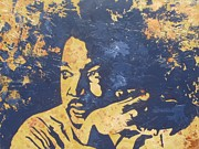 Martin  Luther Paintings - Martin Luther King by David Shannon