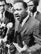 Demonstrations Prints - Martin Luther King, Jr. 1929-1968 Print by Everett