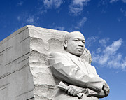 Martin Luther Photos - Martin Luther King Jr Memorial - Washington DC by Brendan Reals