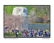 Martin Luther King Jr Photo Prints - Martin Luther King Jr. Memorial Print by Jack Schultz