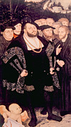 Jt History Photos - Martin Luther Left With His Friends by Everett