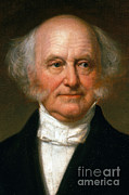 U.s. President Posters - Martin Van Buren Poster by Photo Researchers