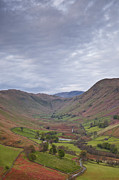 Fell Framed Prints - Martindale Common And Boredale From Hallin Fell Framed Print by Julian Elliott Ethereal Light