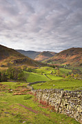 Fell Framed Prints - Martindale Common From Hallin Fell Framed Print by Julian Elliott Ethereal Light