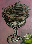 Tilly Strauss Paintings - Martini Nest by Tilly Strauss