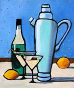 Martini Night Print by Toni Grote