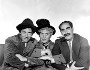 Marx Framed Prints - Marx Brothers - Chico Marx, Harpo Marx Framed Print by Everett