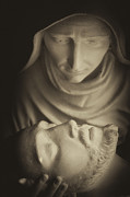 Blessed Mother Photos - Mary and her Son by Dawna  Moore Photography