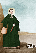 Paleontologist Posters - Mary Anning, English Paleontologist Poster by Science Source