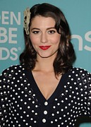 Golden Globe Art - Mary Elizabeth Winstead In Attendance by Everett